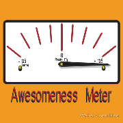 Awesomeness Meter Gauge - I am Awesome