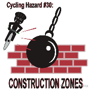 HAzards of cycling - Construction zones wrecking ball wreck Keywords: Hzards of cycling  Construction zones wrecking ball wreck