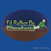 I'd rather be elsewhere - I would Keywords: I'd rather  elsewhere would
