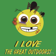 I LOVE the great outdoors! Cuts, scrapes, bruises, mosquitoes, contusions, etc Keywords: I LOVE the great outdoors! Cuts, scrapes, bruises, mosquitoes, contusions, etc