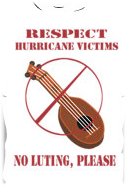 Respect hurricane victims - no luting please Keywords: respect hurricane victims luting looting