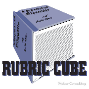 Rubric Cube - Interpersonal etiquette and social mores Keywords: Rubric Cube - Interpersonal etiquette  social mores rubric cube